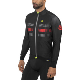 Alé Cycling PRR 2.0 Strada LS Jersey Men Black-Red